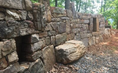 Mars Hill Retaining Wall