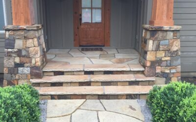 Elk Mountain Entrance Veneer
